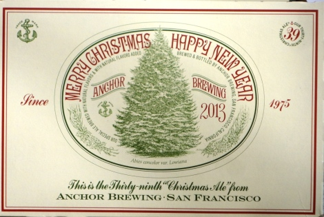 2013 Anchor Christmas Ale