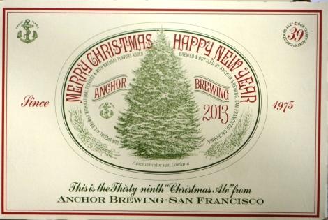 2013 Anchor Christmas Ale