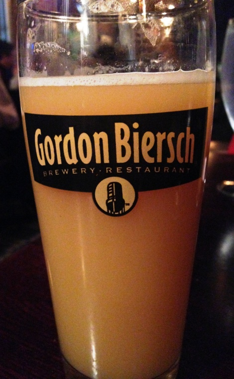 Gordon Biersch Cask Conditioned Rye IPA