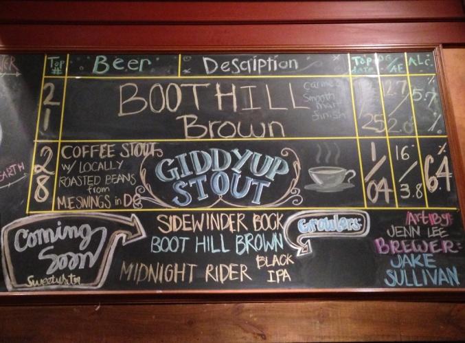 Sweetwater Tavern Beer Chalkboard_2