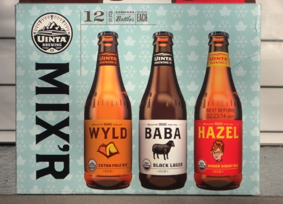 Uinta Brewing Company Winter Mix'r