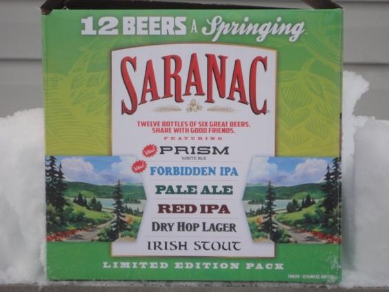 Saranac 12 Beers a Springing