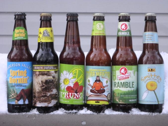 Spring 2014 Beer Sampling