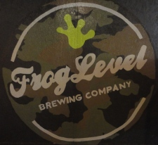 Frog Level Brewing Company Sign