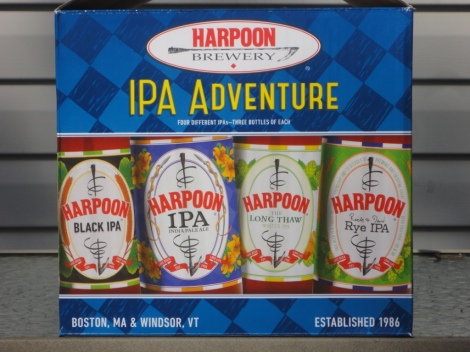 Harpoon Brewery IPA Adventure