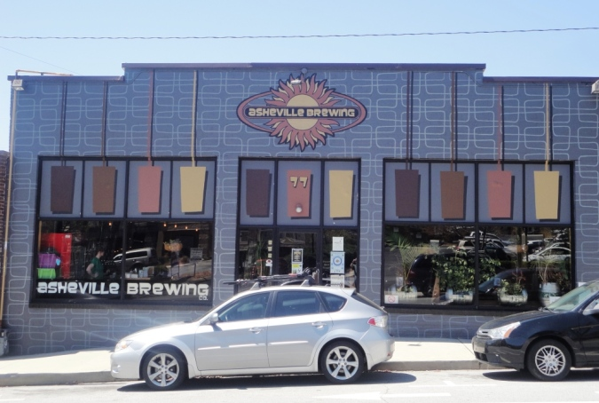 Asheville Brewing Company front