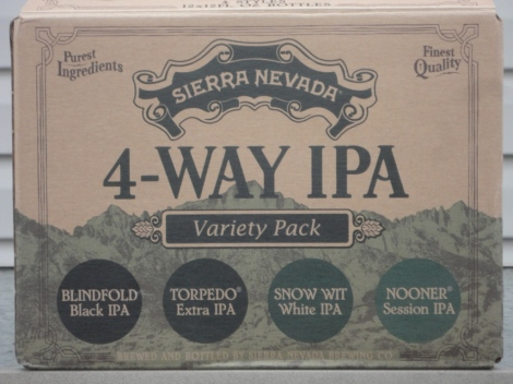 Sierra Nevada 4-Way IPA Variety Pack