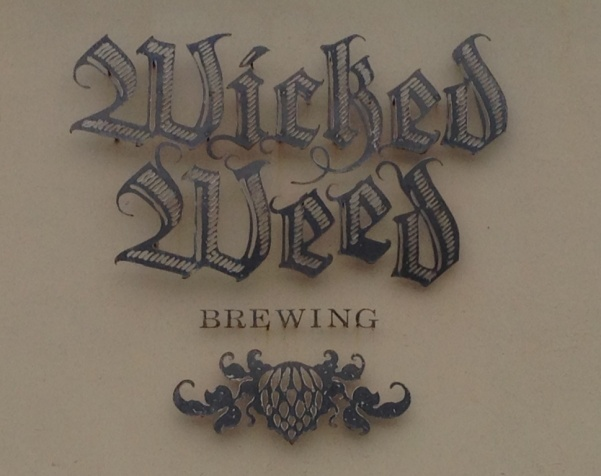 Wicked Weed Brewing Sign
