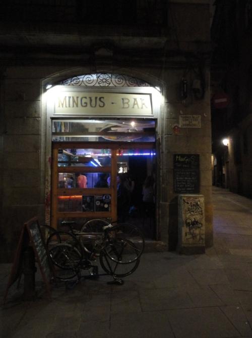 Bar Mingus Front
