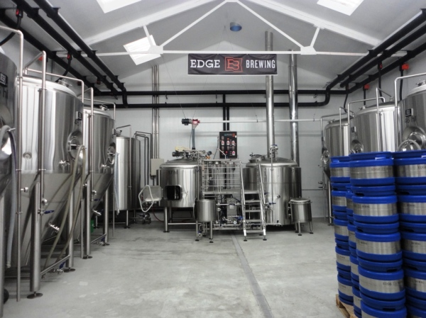 Edge Brewing tanks