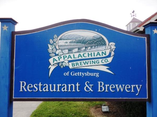 Appalachian Brewing Company sign