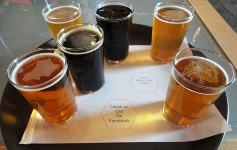 Battlefield Brew Works Sampler