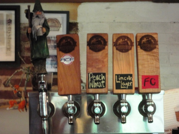 Battlefield Brew Works Taps