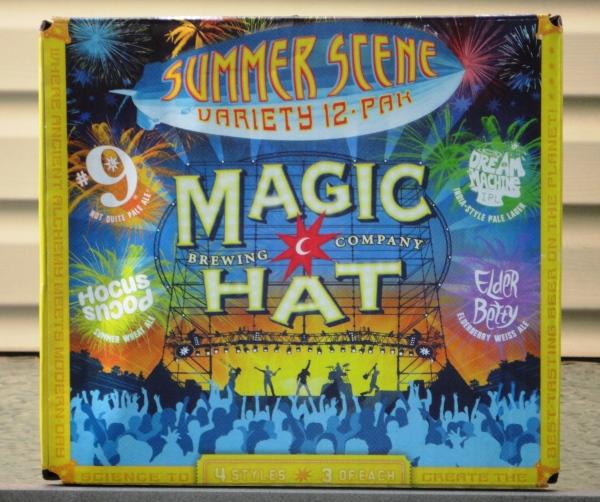 Magic Hat Summer Scene