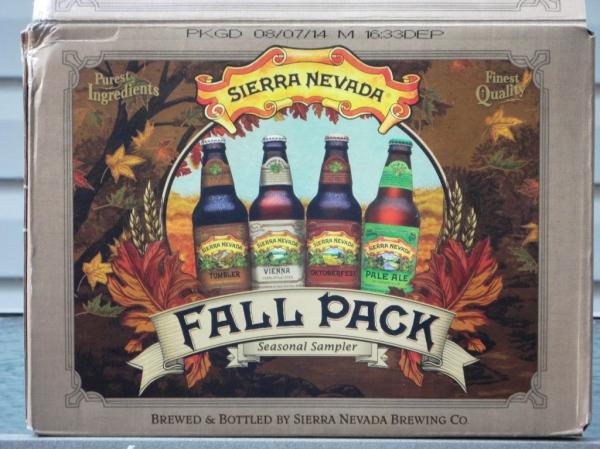 Sierra Nevada Fall Pack Seasonal Sampler