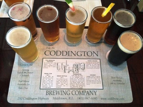 Coddington Brewing Company Sampler