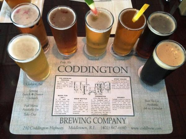 Coddington Brewing Company Sampler