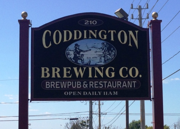 Coddington Brewing Company sign