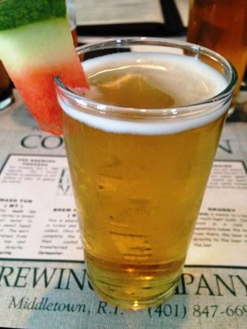 Coddington Brewing Company watermelon ale