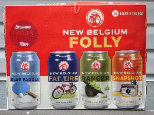 New Belgium Can Folly Pack