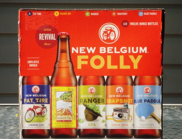 New Belgium Summer Folly Pack