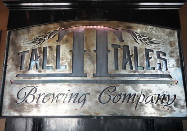 Tall Tales Brewing Company sign