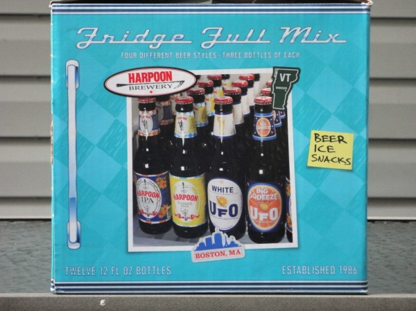 Harpoon Brewery Fridge Full Mix