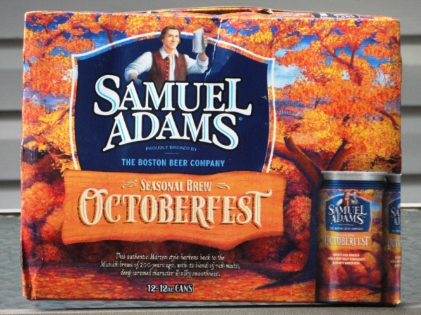 Sam Adams Octoberfest cans