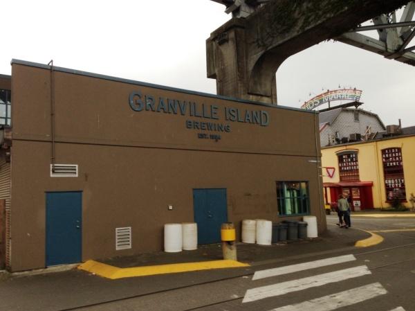 Granville Island Brewing exterior