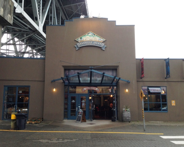 Granville Island Brewing front