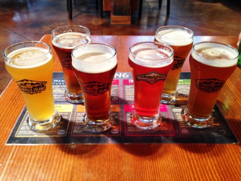 Granville Island Brewing sampler