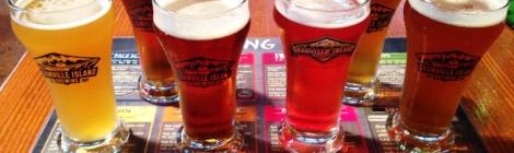 Granville Island Brewing sampler