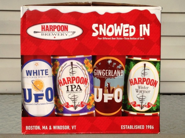 Harpoon Brewery Snowed In