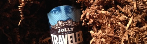 Jolly Traveler Winter Shandy bottle