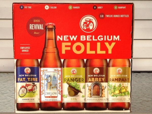 New Belgium Folly Winter 12 Pack