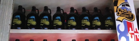 Backshore Brewing Company growlers