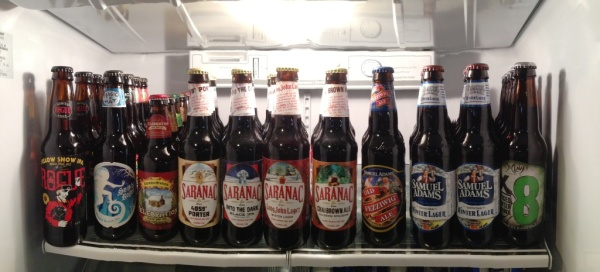 Beer Fridge December 2014