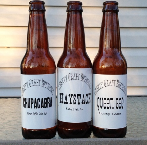 Liberty Craft Brewing bottles