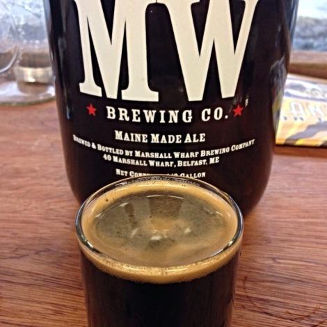 Marshall Wharf Growler and Beer