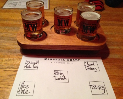 Marshall Wharf Sampler at Three Tides