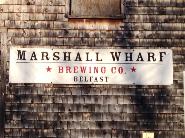 Marshall Wharf Sign