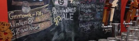 Baying Hound Chalkboard