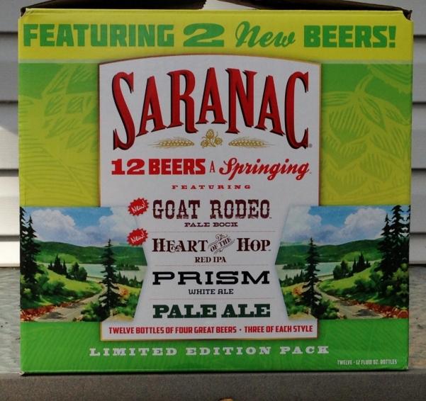 Saranac 12 Beers a Springing 2015