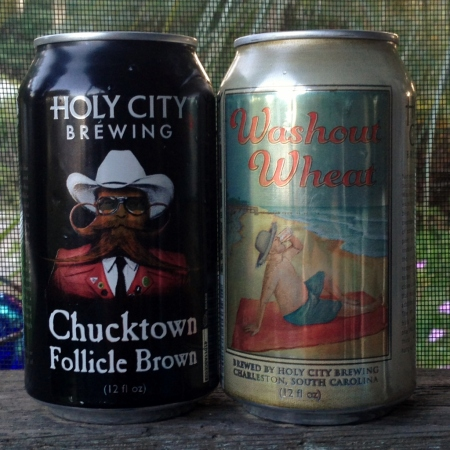 Holy City Brewery Cans