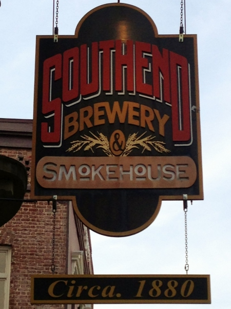Southend Brewery Sign