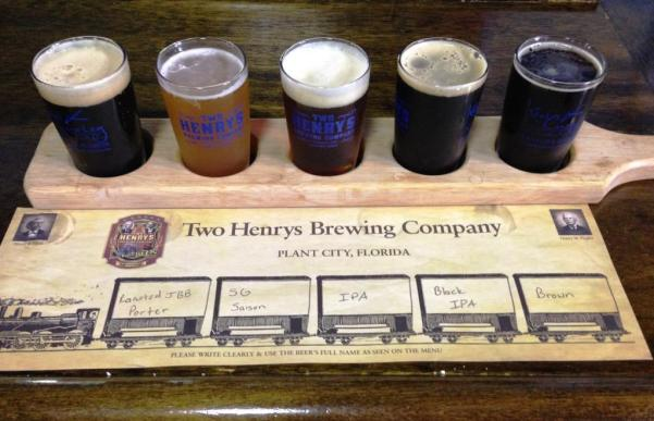 Two Henrys Sampler Paddle