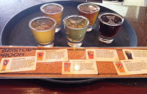 Bristol Brewing Tap Room Sampler Tray