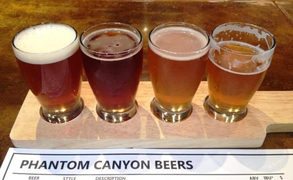 Phantom Canyon Beers 1