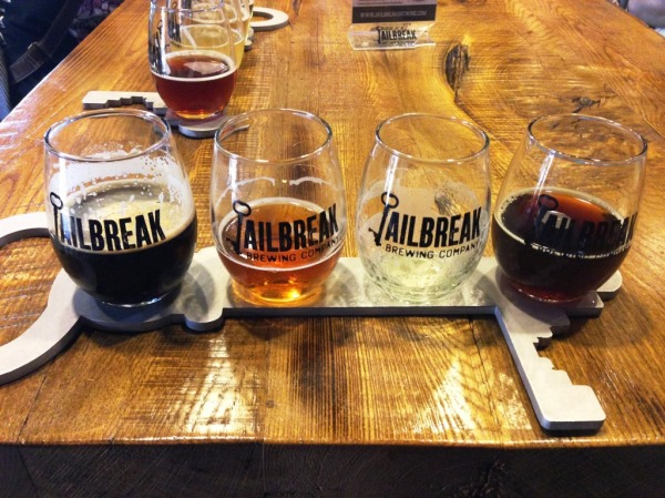 Jailbreak Brewing Company sampler1