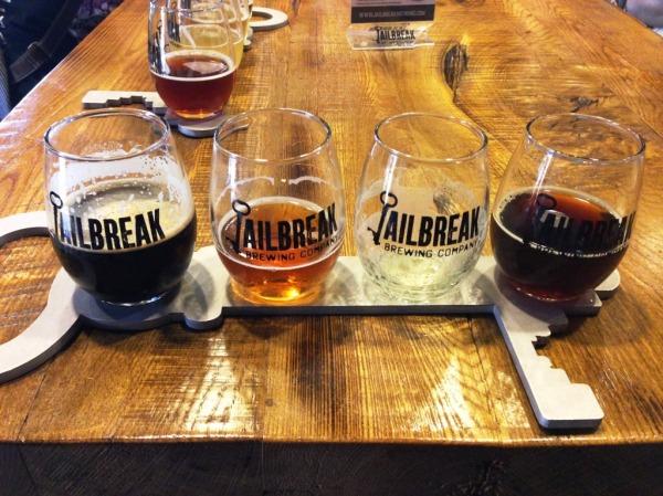 Jailbreak Brewing Company sampler1
